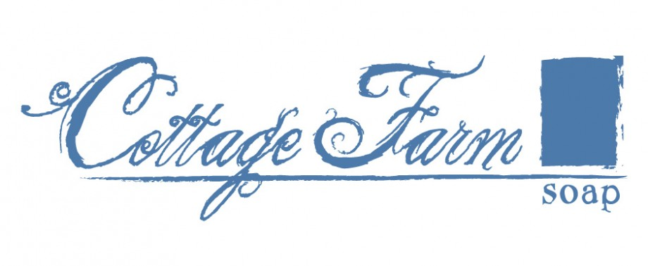 Logo design for Cottage Farm Soap, a handmade soap company in Hinckley, Ohio.