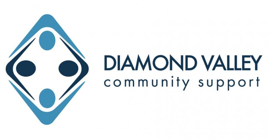Logo design for Diamond Valley Community Support, australian non-profit