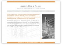 Arthur Hill & Co Website