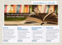 School Facilities Group - Custom Consultant Wordpress Theme