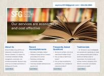 School Facilities Group - Custom Consultant Wordpress Theme