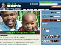 Edmond Richardson - Campaign Website Wordpress Template