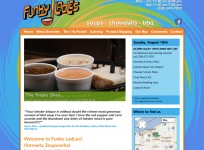 Funky Ladles - Custom Wordpress Restaurant Theme