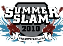 Summer Slam 2010 - Music Festival Logo Design