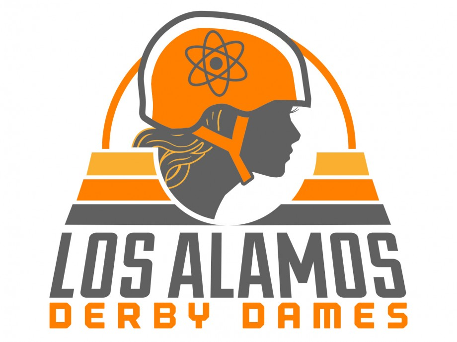 LADD Los Alamos Derby Dames logo designs - final renders - color