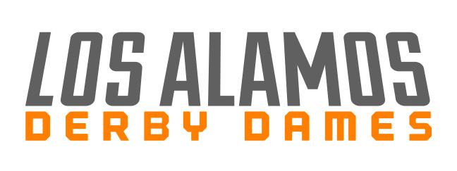 LADD Los Alamos Derby Dames logo designs - logotype -  rgb