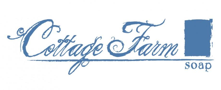 Logo design for Cottage Farm Soap, a handmade soap company in Hinckley, Ohio.