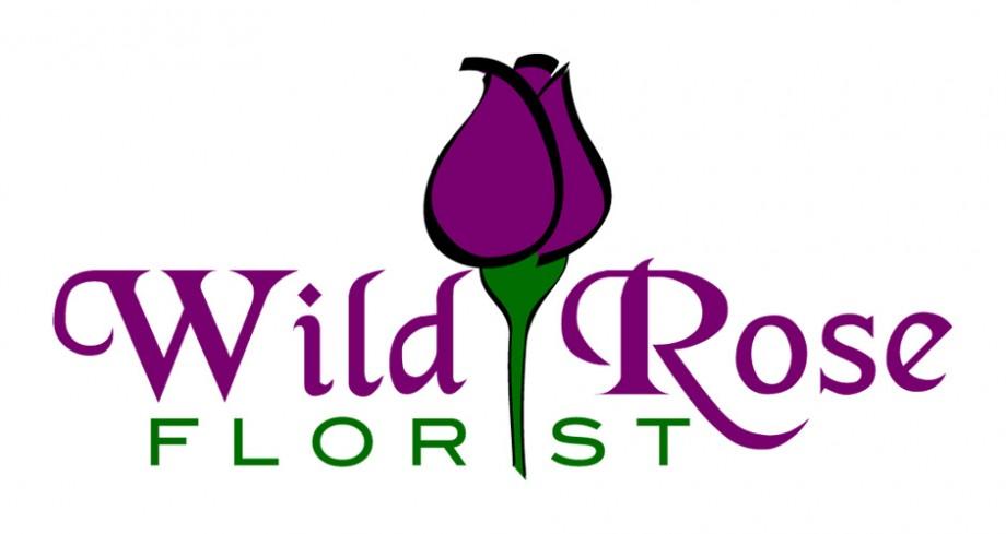 Logo design for Wild Rose Florist, based in Melbourne Australia