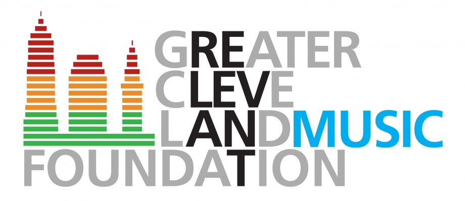 Logo design for the Greater Cleveland Music Foundation, a non-profit based in North East Ohio.