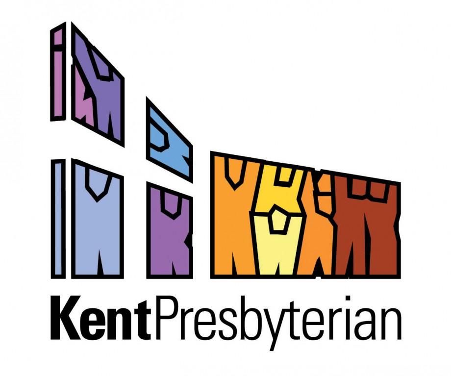 Logo and branding design for Kent Presbyterian, a church based in Kent, Ohio.
