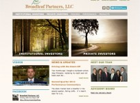 Broadleaf Partners - Custom Wordpress Template Design
