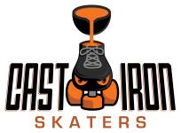 Cast Iron Skaters - Roller Derby League Logo