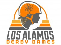 Los Alamos Derby Dames - Roller Derby Logo